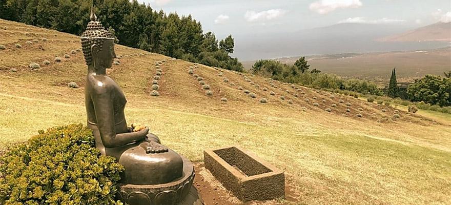 Enchanting locations for meditating