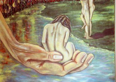 Fuoco vuoto - Oil on Canvas
